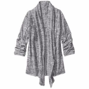 Athleta • Haven Wrap Gray Cardigan